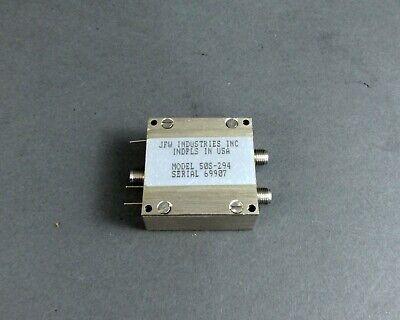 Jfw Industries 50s-294 Rf Switch Sma 50 Ohms