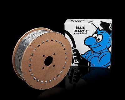 E71t-gs .045 Flux Core Mig Welding Wire 33 Lb Spool Blue Demon