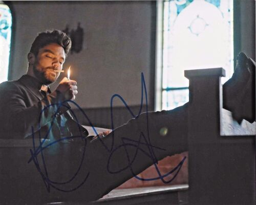 ACTOR DOMINIC COOPER SIGNED PREACHER 8x10 PHOTO W/COA WARCRAFT DRACULA UNTOLD
