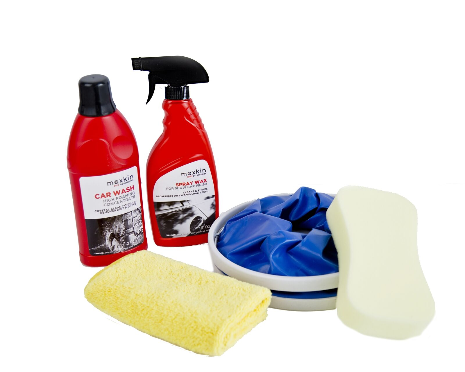 Maxkin Deluxe Car Wash Kit Maxa EBay - Show car cleaning products
