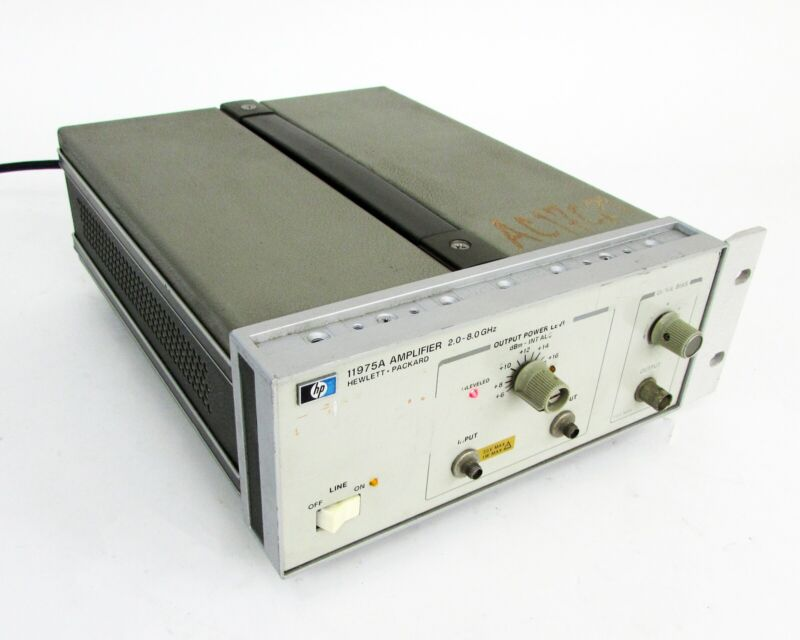 HP / Agilent - 11975A, Microwave Amplifier 2-8GHz, 16dBm
