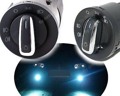 Interrupteur Lumière Commande phares Light switch VW GOLF PASSAT SKODA POLO T5 ()