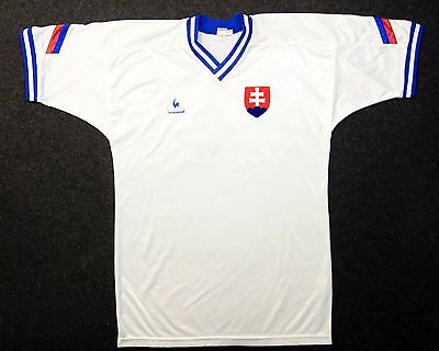 original soccer worn shirt vladislav zvara israel vs slovakia october 1994 image