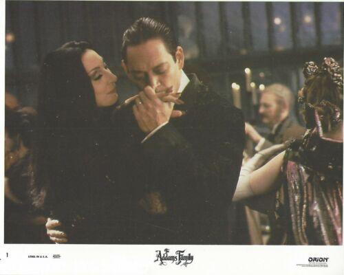 Addams Family Original 8x10 Lobby Card Poster 1991 Photo #1  Anjelica Raul