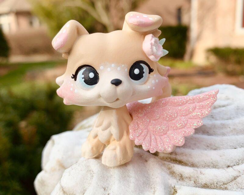 LPS Littlest Pet Shop OOAK Handpainted Custom Collie Dog