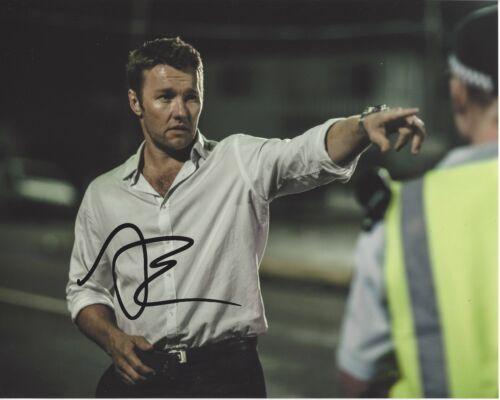 ACTOR JOEL EDGERTON SIGNED BLACK MASS MOVIE 8X10 PHOTO W/COA WARRIOR BOY ERASED