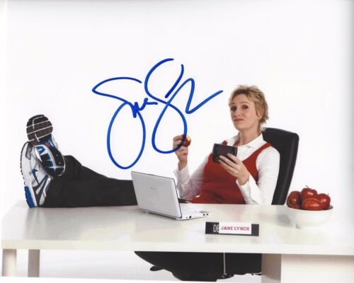 JANE LYNCH SIGNED WRECK-IT RALPH 8x10 PHOTO A W/COA 40 YEAR OLD VIRGIN GLEE