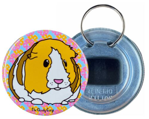 Tropical Guinea Pig Beer Bottle Opener Dog Beverage Cooler Accessories and Gifts