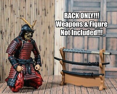 Katana Rack/Holder Diorama PROP ONLY Articulated Icons, Action Figure, 1/12