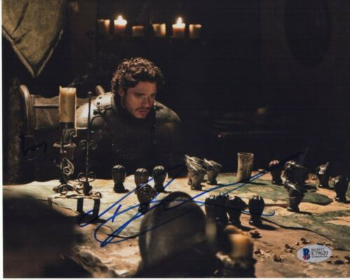 RICHARD MADDEN SIGNED GAME OF THRONES PHOTO 8X10 BODYGUARD AUTOGRAPH PSA BAS COA