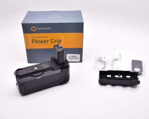 Promaster 8363 Vertical Control Power Grip for Sony A6300 A6000 (#8624)
