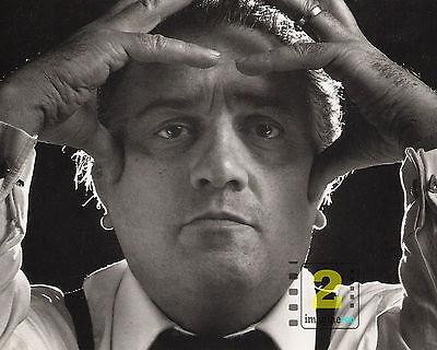 "Federico Fellini 10""x 8"" B&W Portrait PHOTO REPRINT"