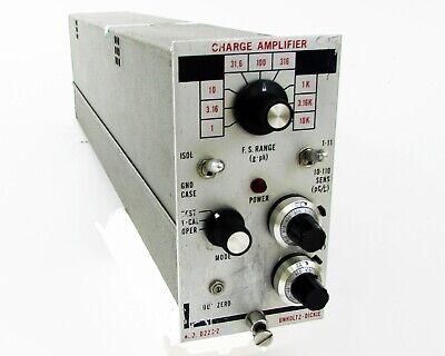 Unholtz-dickie - D22 Series - D22c-2 - Charge Amplifier