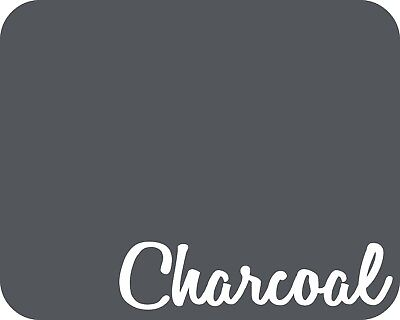 15 X 5 Yards - Stahls Fashion-lite Heat Transfer Vinyl Htv - Charcoal