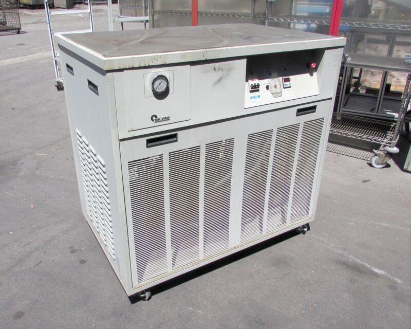 Tek Temp TKD-250/34,000 Water Cooled Chiller, 5 to 35 Degrees Celsius