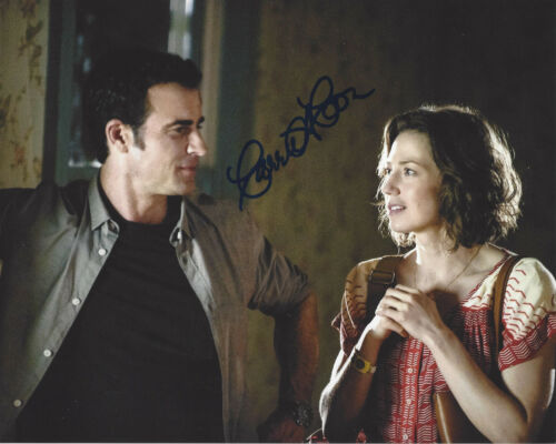 CARRIE COON SIGNED AUTHENTIC 'THE LEFTOVERS' 8X10 PHOTO B w/COA ACTRESS THE POST