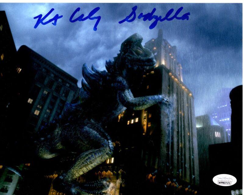 KURT CARLEY signed 8x10 Photo GODZlLLA 1998 Suit Actor JSA Authentication