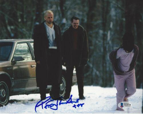PETER STORMARE SIGNED 'FARGO' MOVIE 8x10 PHOTO 4 ACTOR PROOF BECKETT COA BAS