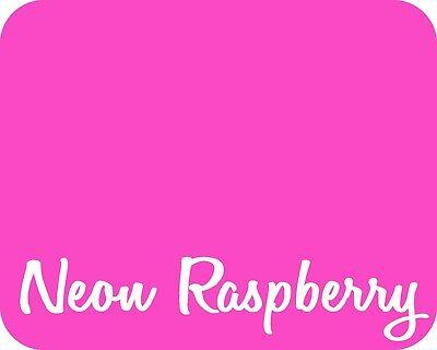 15 X 5 Yards - Stahls Fashion-lite Heat Transfer Vinyl Htv - Neon Raspberry