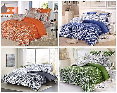 tree branch bedding set: duvet cover set/sheet set/accessories, full/queen/king](King Accessories)
