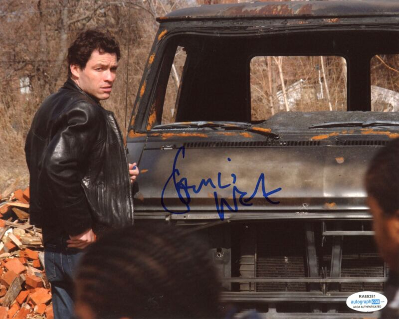 "Dominic West ""The Wire"" AUTOGRAPH Signed 8x10 Photo C ACOA"