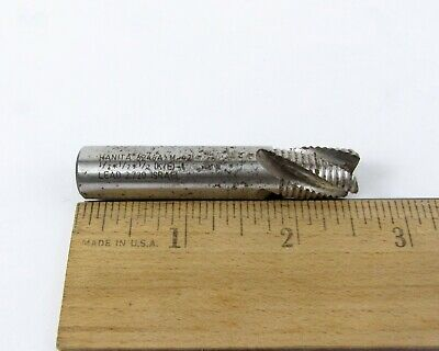 Hanita 6246a Rough End Mill Total Length 2-12 Diameter 12