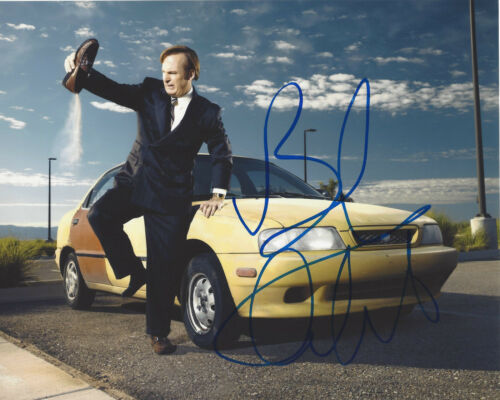 BOB ODENKIRK SIGNED AUTHENTIC 'BETTER CALL SAUL' 8X10 PHOTO w/COA BREAKING BAD