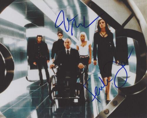 JAMES MARSDEN & FAMKE JANSSEN DUAL SIGNED AUTHENTIC 'X-MEN' 8X10 PHOTO w/COA
