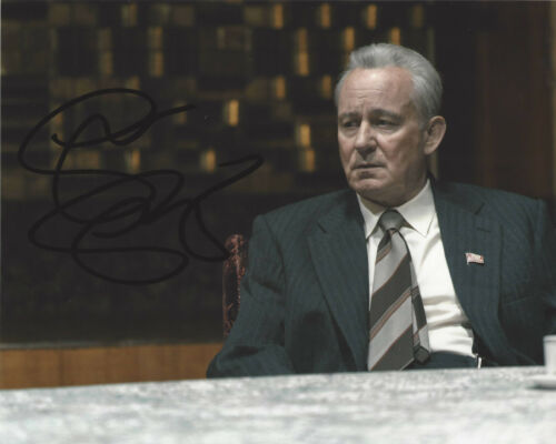 STELLAN SKARSGARD SIGNED AUTHENTIC 'CHERNOBYL' 8x10 PHOTO D w/COA HBO SHOW ACTOR