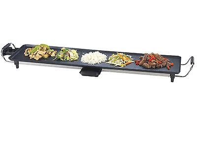 Teppanyaki XL 87x23cm 1800Watt Electric Kitchen Grill Pan Tray Griddle Barbecue