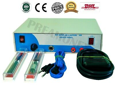 Mini Diathermy Coagulator For Controlling Wet.field Bipolar Prof. Machine