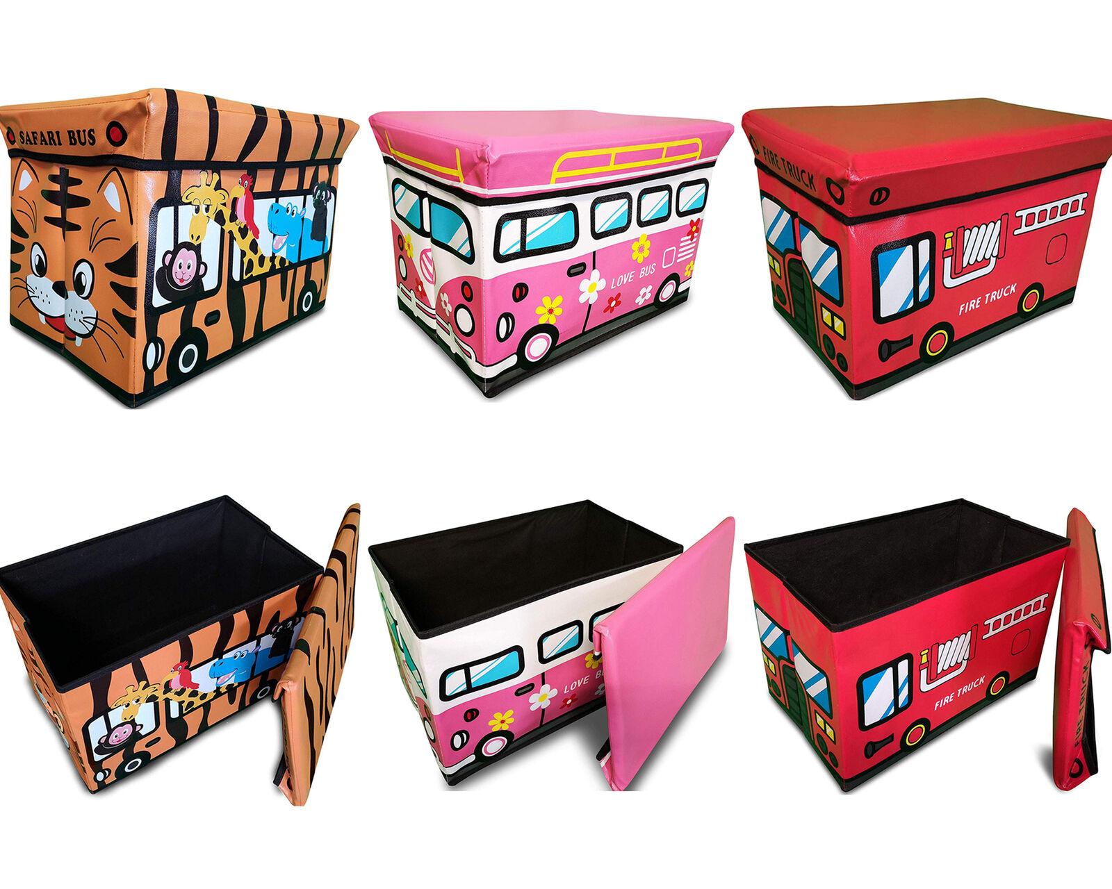 Spielzeugkiste mit Deckel Kinder Aufbewahrungsbox Kinder Spielzeug Aufbewahrung