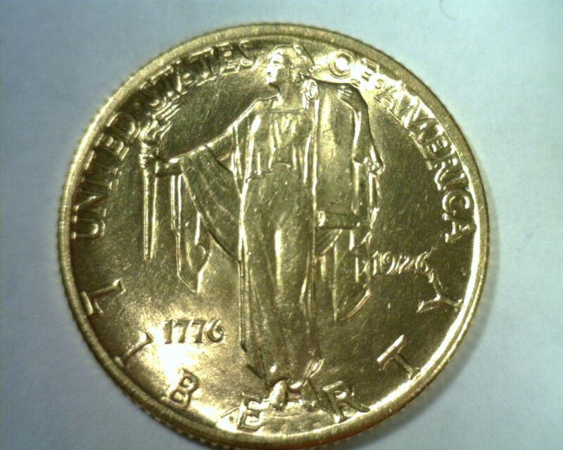 1926 SESQUICENTENNIAL 2.50 DOLLAR GOLD NICE UNCIRCULATED NICE UNC. NICE ORIGINAL