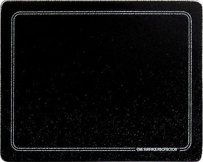 - Vance 20 X 16 Black with white Border Surface Saver Tempered Glass Cutting Board