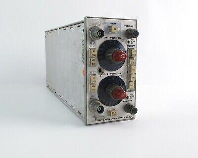 Tektronix 5a18n Oscilloscope Dual Trace Twin Channel Amplifier Plug-in