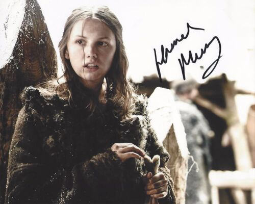 ACTRESS HANNAH MURRAY SIGNED GAME OF THRONES 8x10 PHOTO W/COA GILLY DETROIT