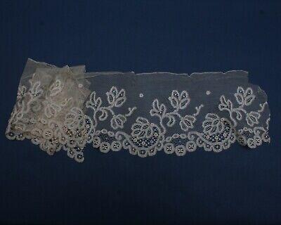 New creamy off white colour fine thread Shuttle edge Lace//trimmings 3 inch Wider