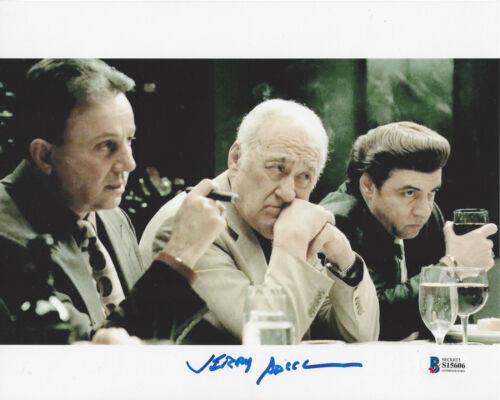 JERRY ADLER SIGNED THE SOPRANOS 8x10 PHOTO ACTOR  HESH RABKIN BECKETT BAS COA