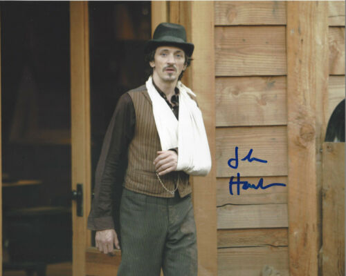 JOHN HAWKES SIGNED AUTHENTIC 'DEADWOOD' SOL STAR 8x10 PHOTO w/COA ACTOR