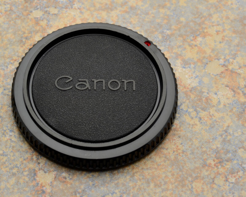 Genuine Canon FD Mount Camera Body Cap AE-1 AV-1 T-50 T-60 T-70 T-90 (#1044)