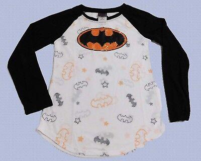 Halloween DC Comics Sequin Batman Youth Girls T-Shirt (SIZES Small-Large) NEW!