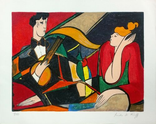 "Linda Le Kinff ""serenade"" 1994 