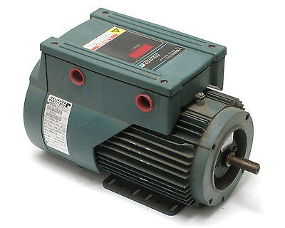 Reliance Vsm500 Variable-speed Ac Drive Wintegrated 1hp 3-phase Motor