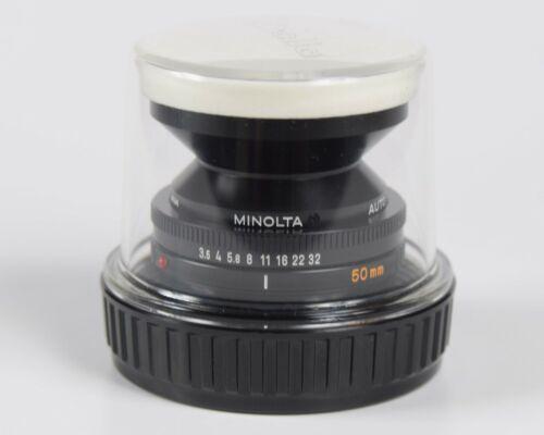 Minolta Auto Bellows Macro Rokkor 50mm F/3.5 Lens 1:3.5 Manual Focus Lens