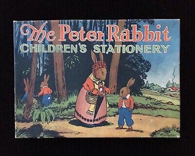Children's STATIONERY Set - w Peter Rabbit Illustrations by Ray Gleason, 20s 30s](Children's Stationery)