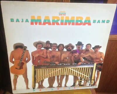 BAJA MARIMBA BAND naturally 1982 US APPLAUSE STEREO VINYL LP, usado segunda mano  Embacar hacia Spain