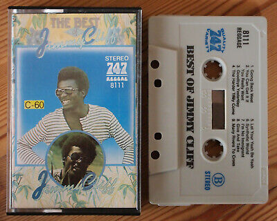 JIMMY CLIFF - THE BEST OF (747 8111) UNOFFICIAL MIDDLE EASTERN CASSETTE TAPE