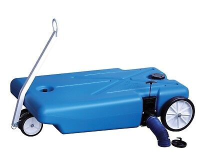 Barker 30844 42 Gallon Tote-Along 4-Wheeler Holding Tank with Kit