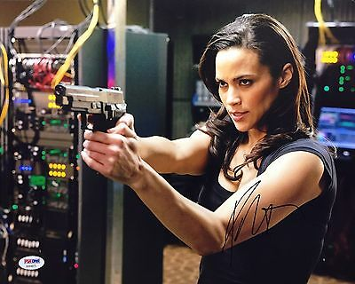 Paula Patton Signed 11X14 Photo  Mission Impossible  Deja Vu Psa Aa84875