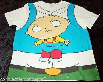 Halloween Family Guy Peter & Stewie Men's Costume T-Shirt (XLarge or XXLarge)